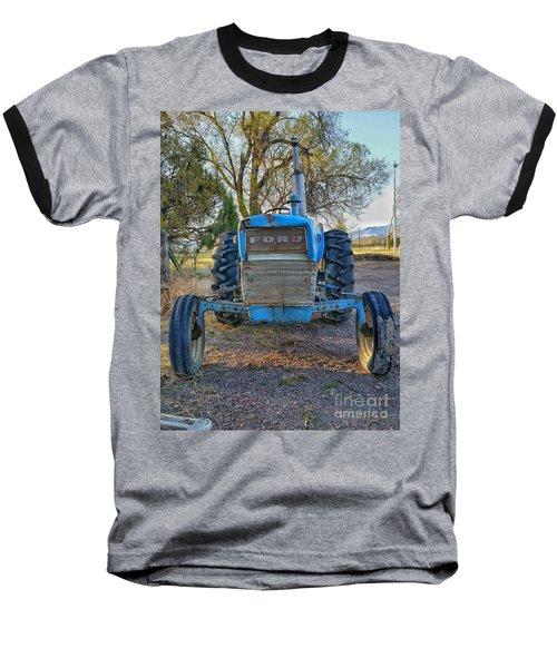 Ford Tractor Baseball T-Shirt