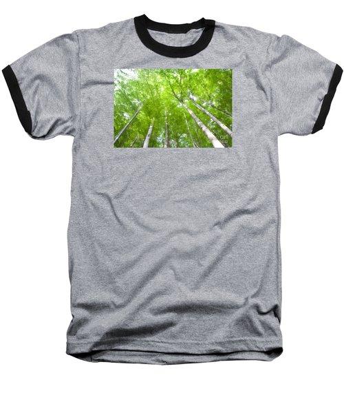 Baseball T-Shirt featuring the photograph Forest 1 by Jean Bernard Roussilhe