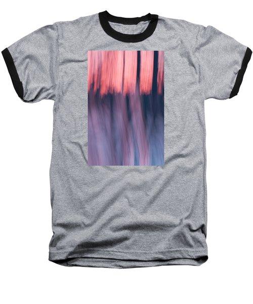 Forest Abstract Baseball T-Shirt