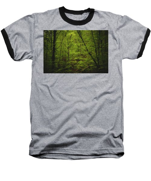 Baseball T-Shirt featuring the photograph Forest Beckons by Shane Holsclaw