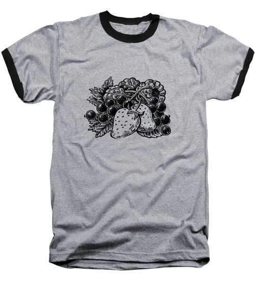 Forest Berries Baseball T-Shirt