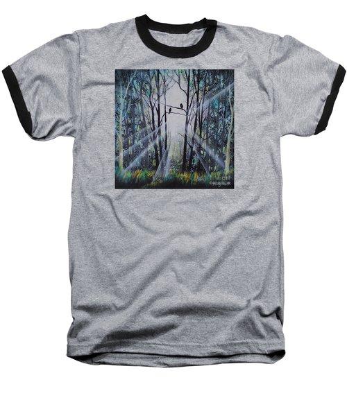 Forest Birds Baseball T-Shirt