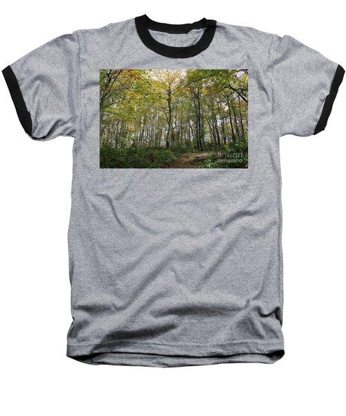 Forest Canopy Baseball T-Shirt