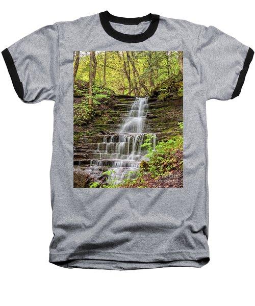 Forest Cascade Baseball T-Shirt
