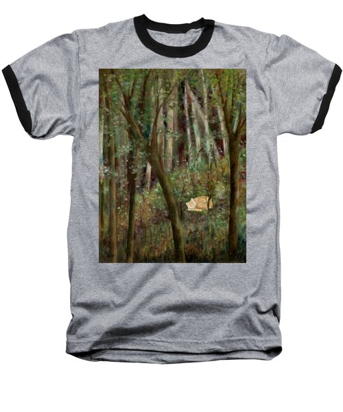 Forest Cat Baseball T-Shirt