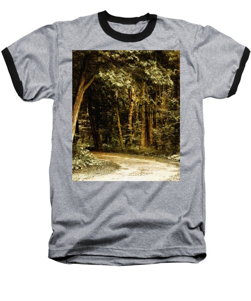 Forest Curve Baseball T-Shirt
