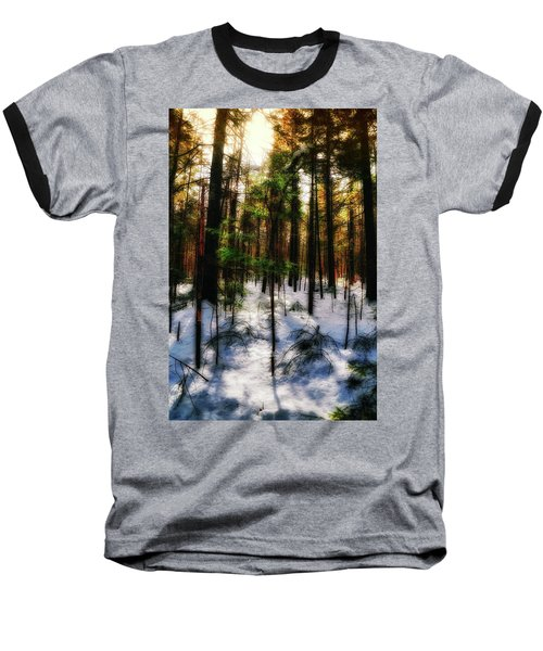 Forest Dawn Baseball T-Shirt
