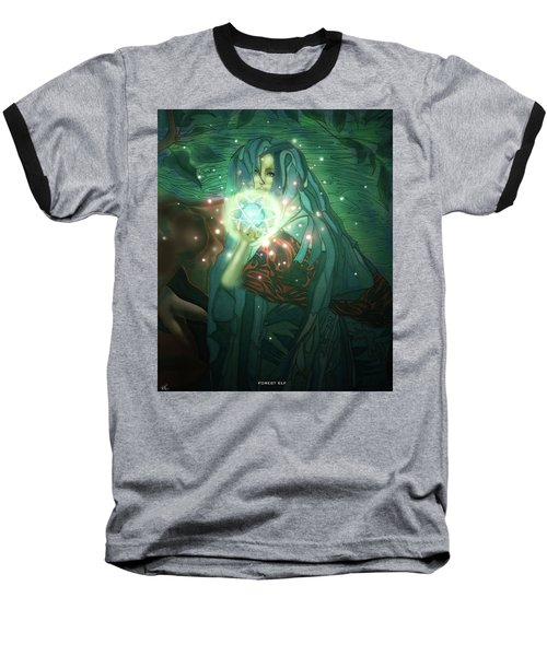 Forest Elf Baseball T-Shirt