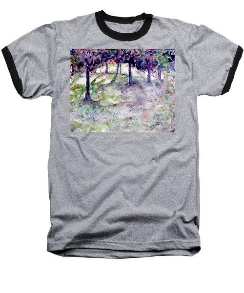 Forest Fantasy Baseball T-Shirt by Jan Bennicoff