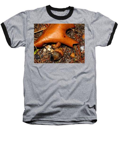 Forest Floor Baseball T-Shirt