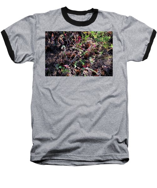 Forest Floor Baseball T-Shirt