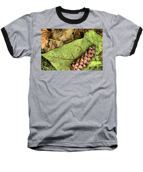 Forest Floor Still Life Baseball T-Shirt