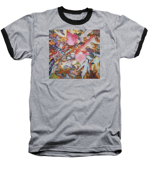 Forest Floor Tapestry Baseball T-Shirt