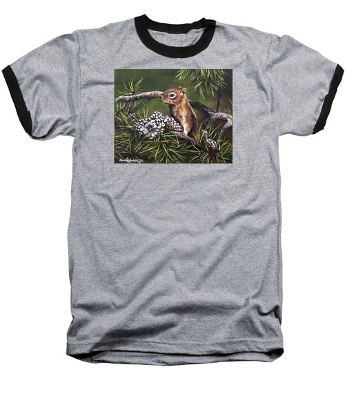 Forest Friend Baseball T-Shirt by Kim Lockman