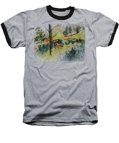 Forest Giant Baseball T-Shirt by Joanne Smoley