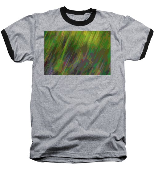 Forest Grasses Baseball T-Shirt