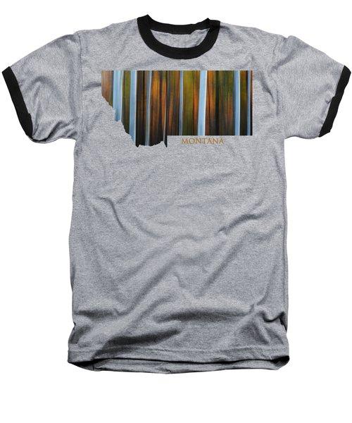 Forest Illusions-montana Baseball T-Shirt