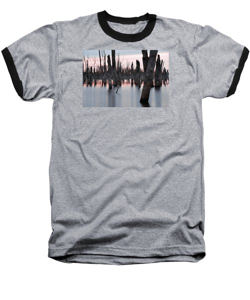 Forest In The Water Baseball T-Shirt