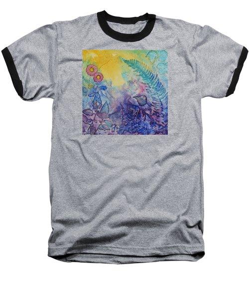Forest Light Baseball T-Shirt by Nancy Jolley