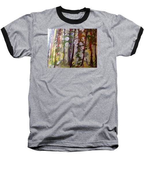Forest Meeting Baseball T-Shirt