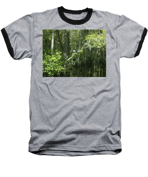Forest Of The Swamp Baseball T-Shirt