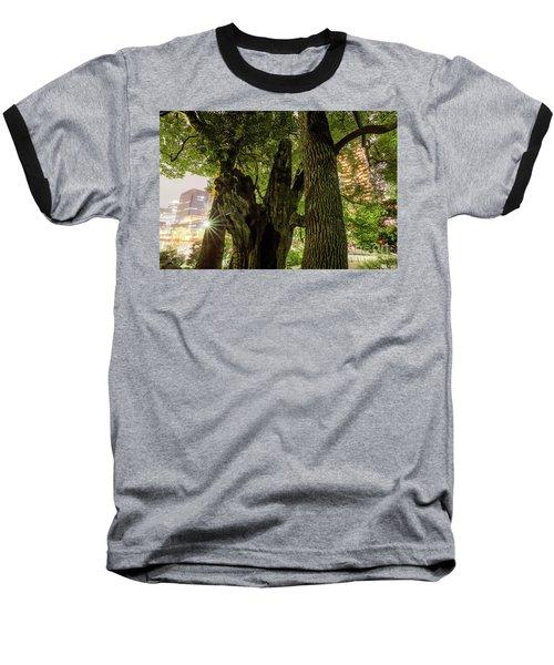 Baseball T-Shirt featuring the photograph Forest Of Tokyo by Tatsuya Atarashi