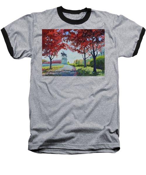 Forest Park Autumn Colors Baseball T-Shirt