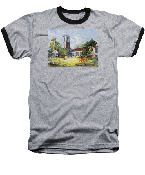 Forest Park Center - St. Louis Baseball T-Shirt by Irek Szelag