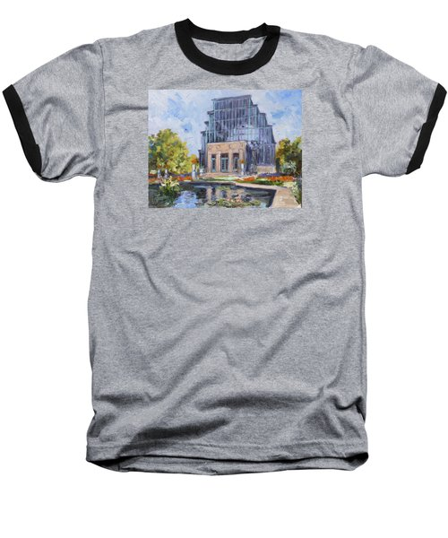 Forest Park - Jewel Box Saint Louis Baseball T-Shirt by Irek Szelag