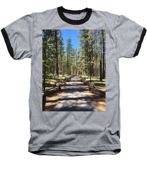 Forest Path Baseball T-Shirt