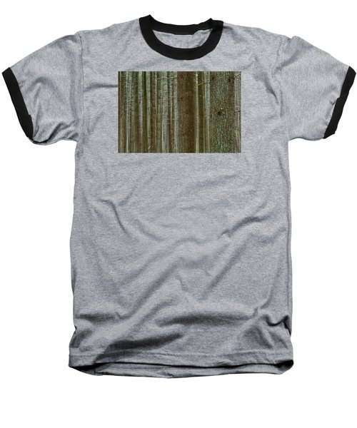 Forest Pattern Baseball T-Shirt