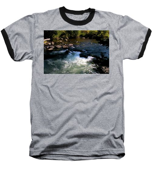 Forest Pool Baseball T-Shirt