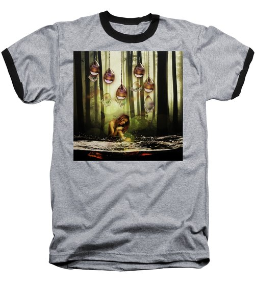 Forest Rain Fantasy Baseball T-Shirt