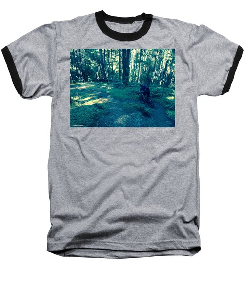 Forest Ride Baseball T-Shirt