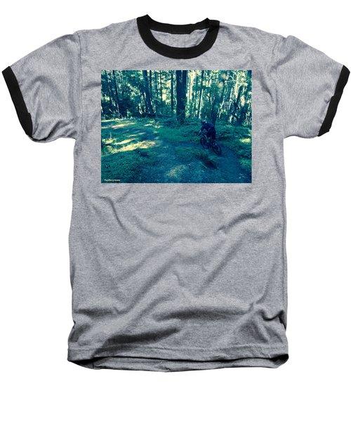 Forest Ride Baseball T-Shirt