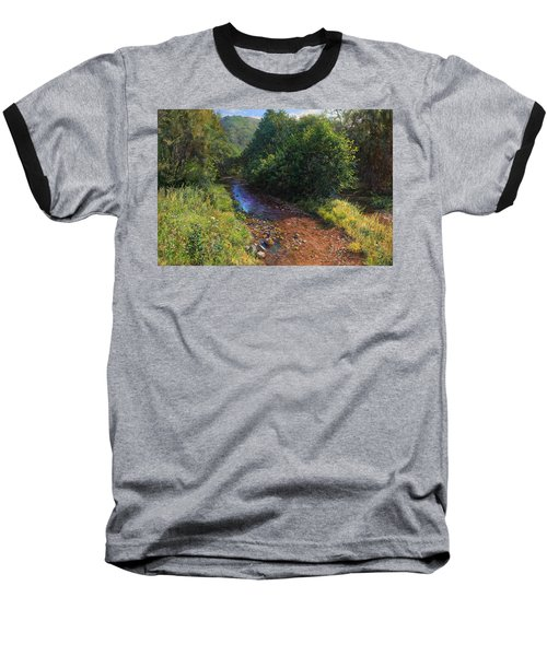 Forest River Summer Day Baseball T-Shirt