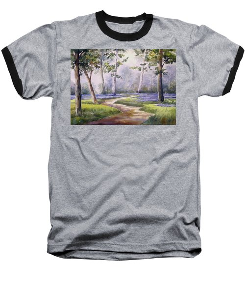 Forest  Baseball T-Shirt by Samiran Sarkar