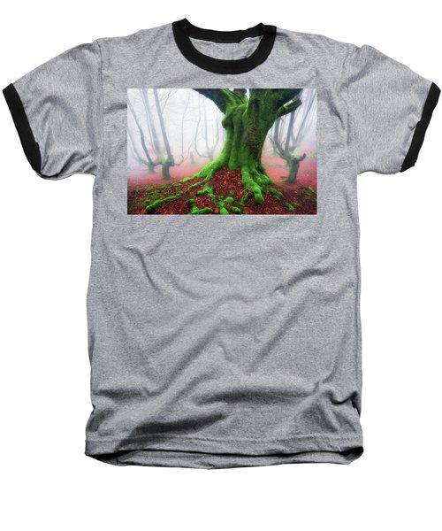 Forest Speeches Baseball T-Shirt