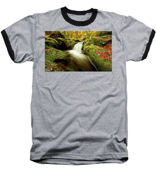 Baseball T-Shirt featuring the photograph Forest Stream by Jorge Maia