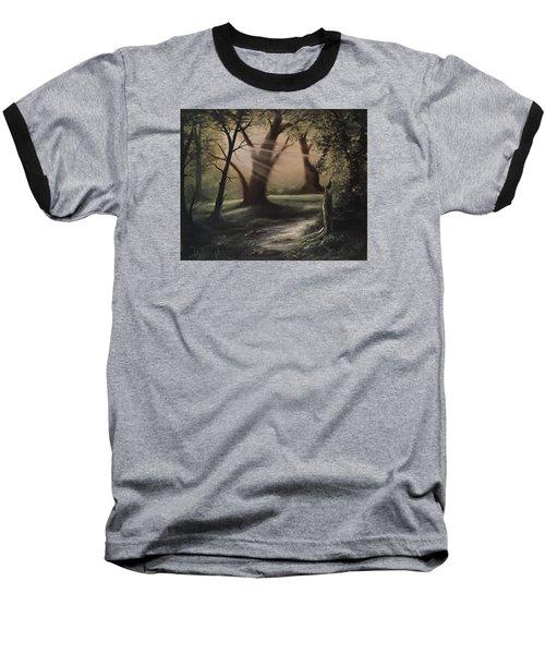 Forest Stream  Baseball T-Shirt