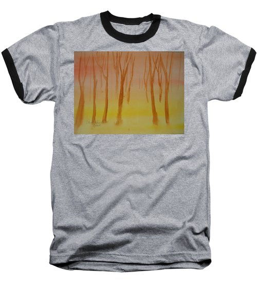 Forest Study Baseball T-Shirt