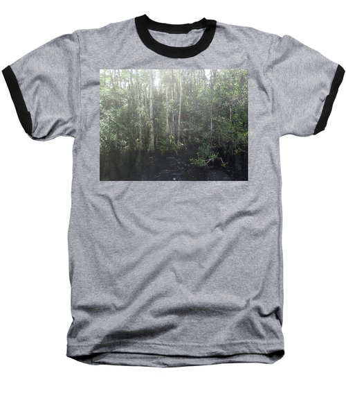 Forest, Sun Swamp Baseball T-Shirt