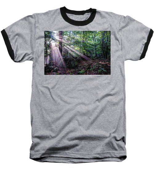 Forest Sunbeams Baseball T-Shirt