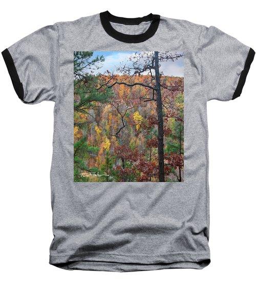 Forest Baseball T-Shirt by Tim Fitzharris
