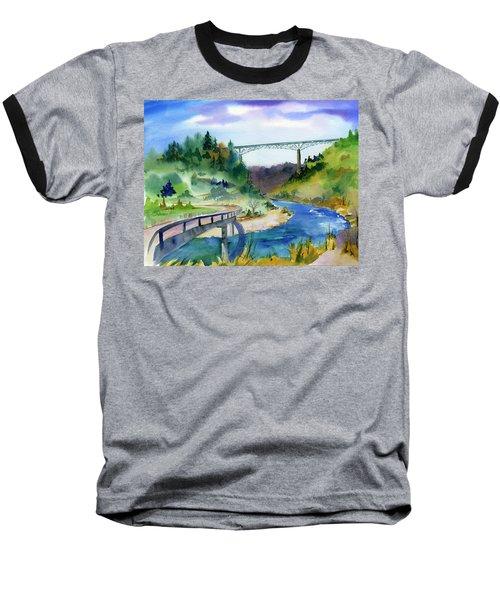 Foresthill Bridge #2 Baseball T-Shirt