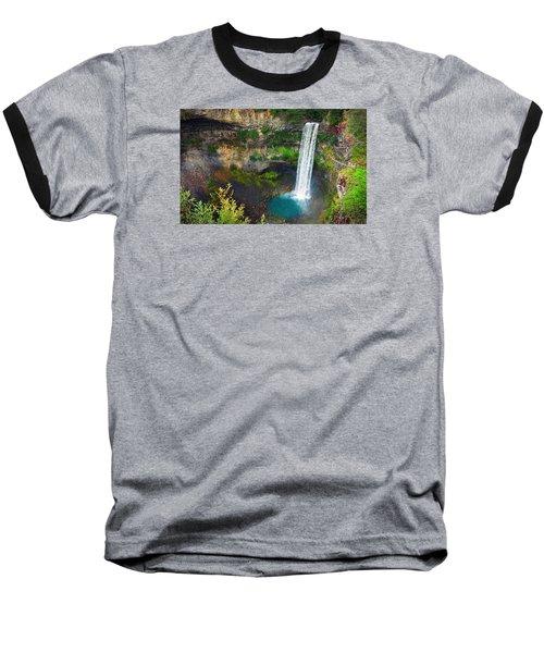 Brandywine Falls, Bc Baseball T-Shirt by Heather Vopni