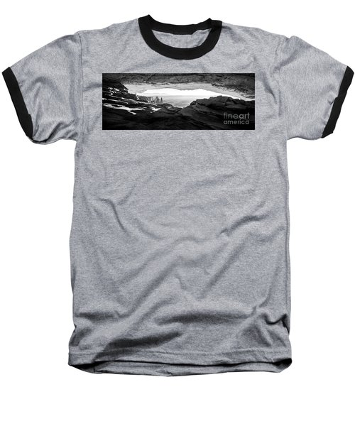 Baseball T-Shirt featuring the photograph Forever View by Kristal Kraft