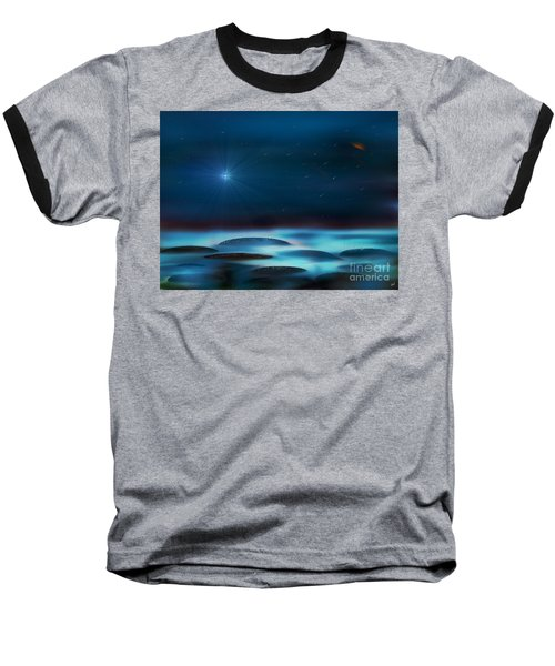 Wishing Baseball T-Shirt by Yul Olaivar
