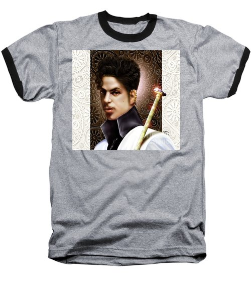 Forevermore The Young Prince Of Paisley 1a Baseball T-Shirt