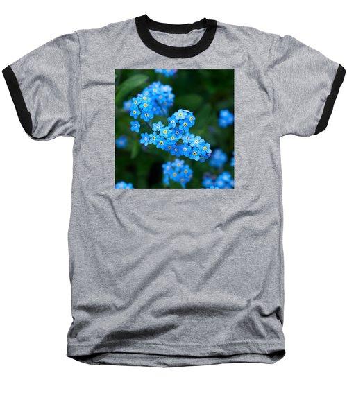 Forget -me-not 5 Baseball T-Shirt by Jouko Lehto